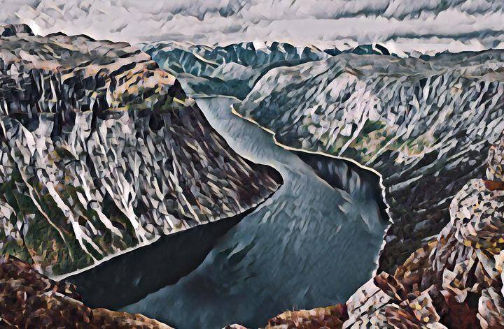 Fjord Valley - Alex Chernov