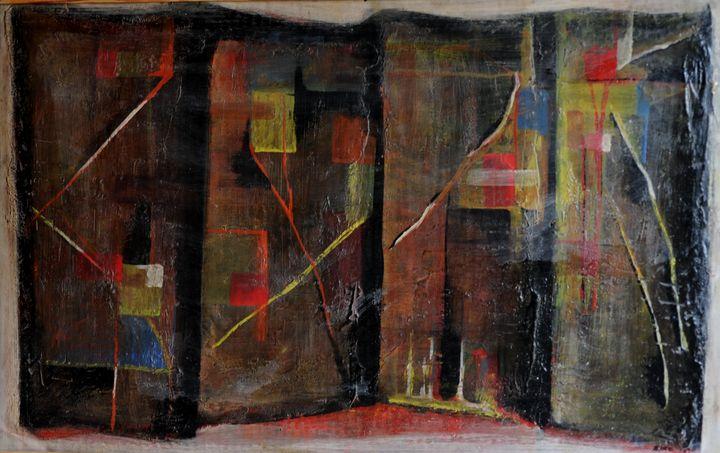 abstract room,,,1973. - JBiro