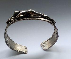 solid silver-nude bracelet.. - JBiro