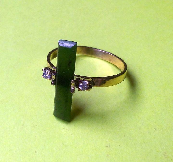 14K. Agate Ring.....SOLD. - JBiro