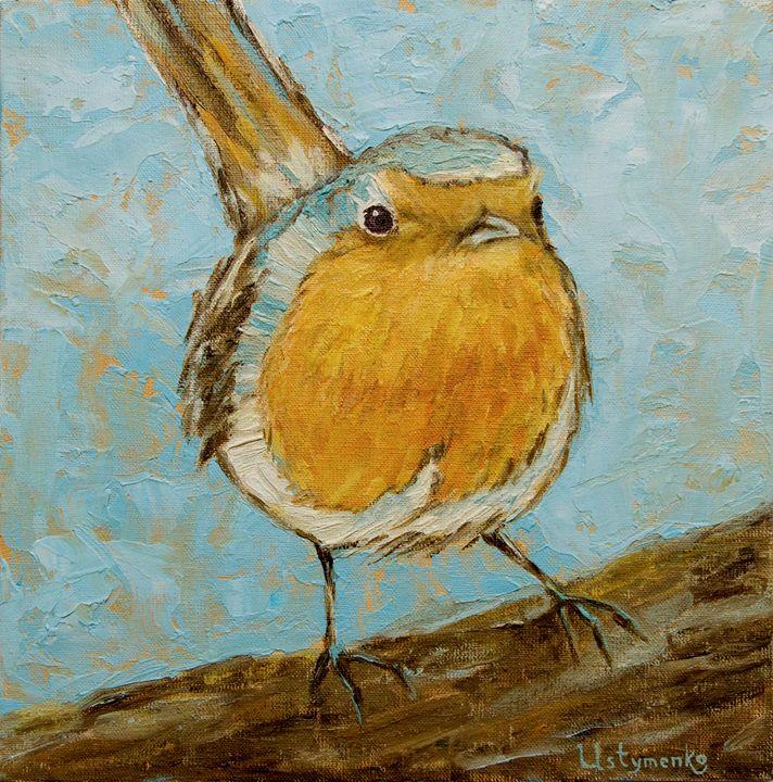 Curious bird - WombArt