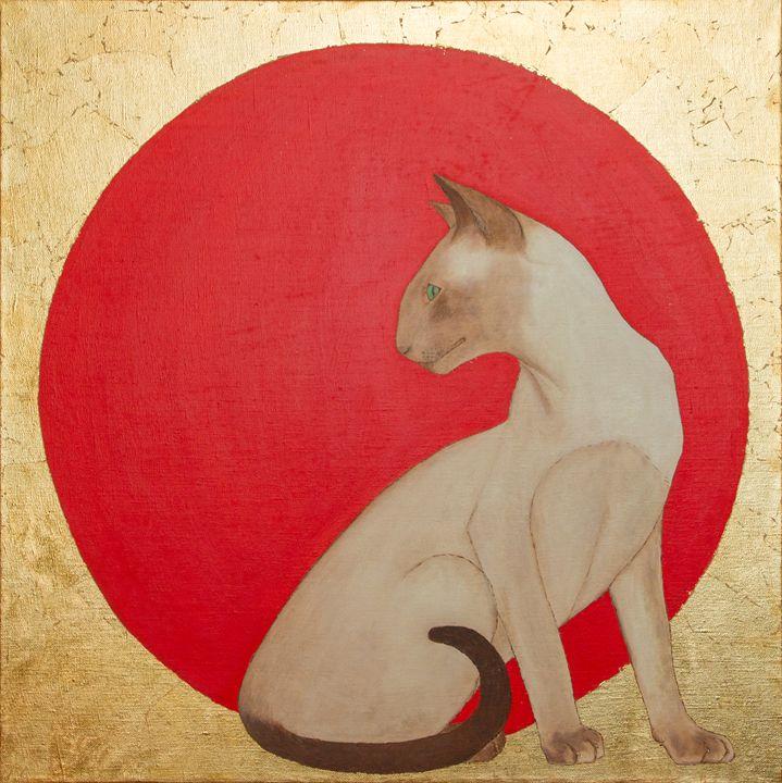 Oriental cat - WombArt