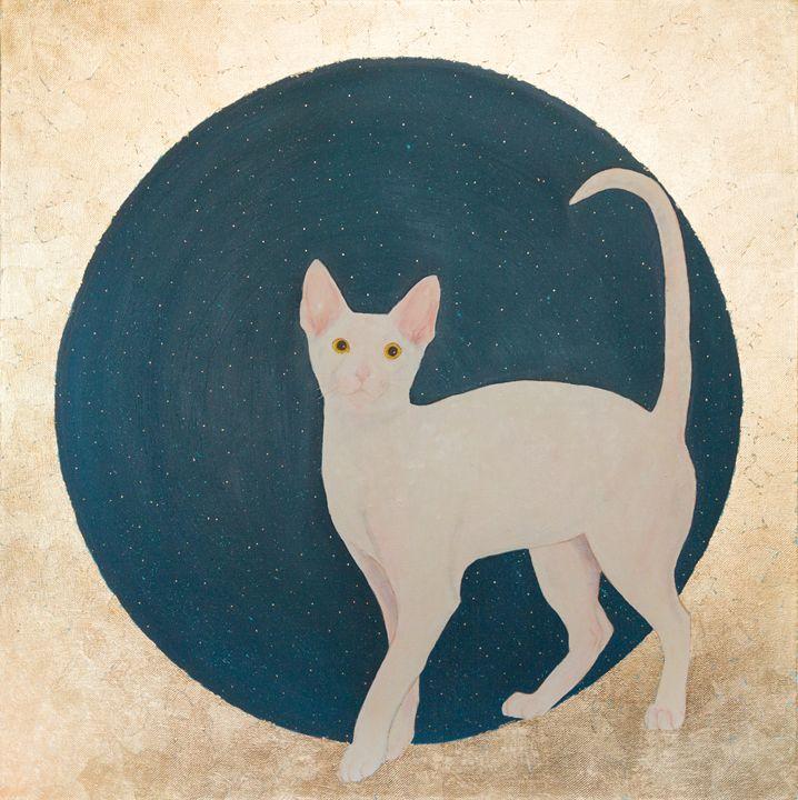 Lunar cat - WombArt