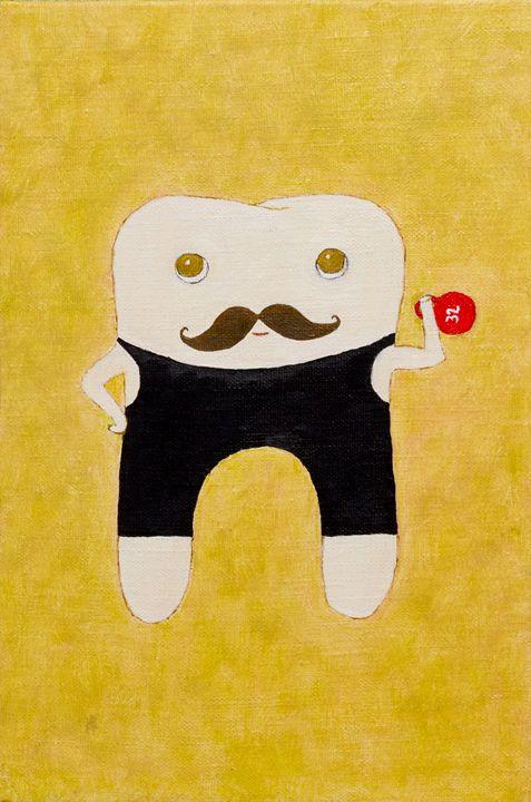 Sturdy molar - WombArt