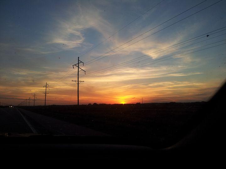 Beautiful Sunset In Nebraska - Creativity Central