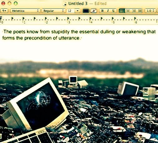 Untitled 3 - Cruising Dystopia: Internet Art & Poetics