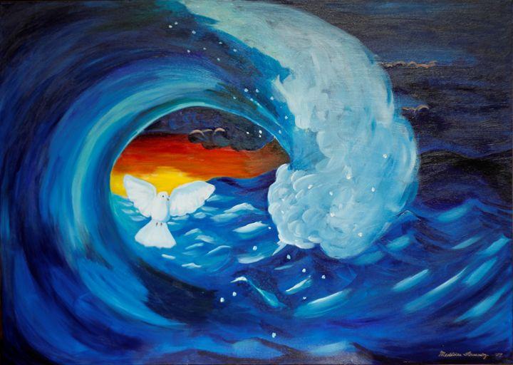 Peace in the Storm - OilnWine Design
