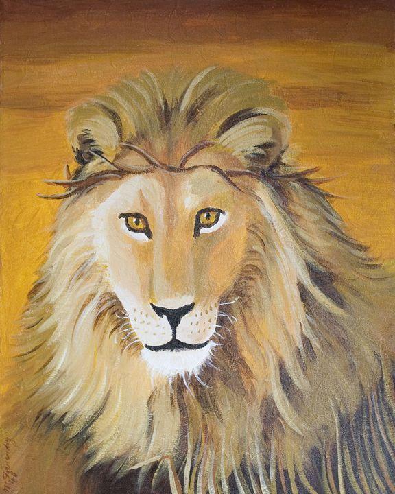 Lion of Judah - OilnWine Design
