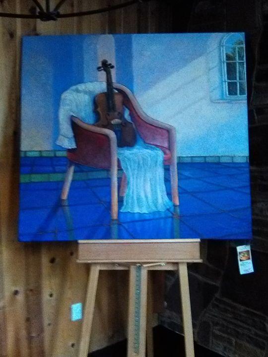 Music Corrie's Viola - Jan Terry Paintings