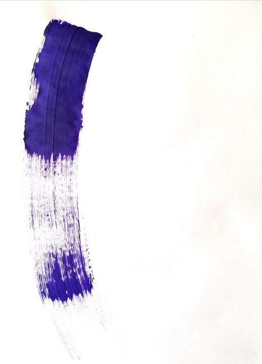 Purple Abstraction no 3 - YagmurTuran