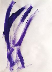 Purple Abstraction no 4