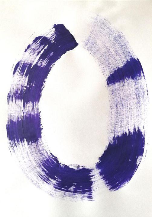 Purple Abstraction no 6 - YagmurTuran