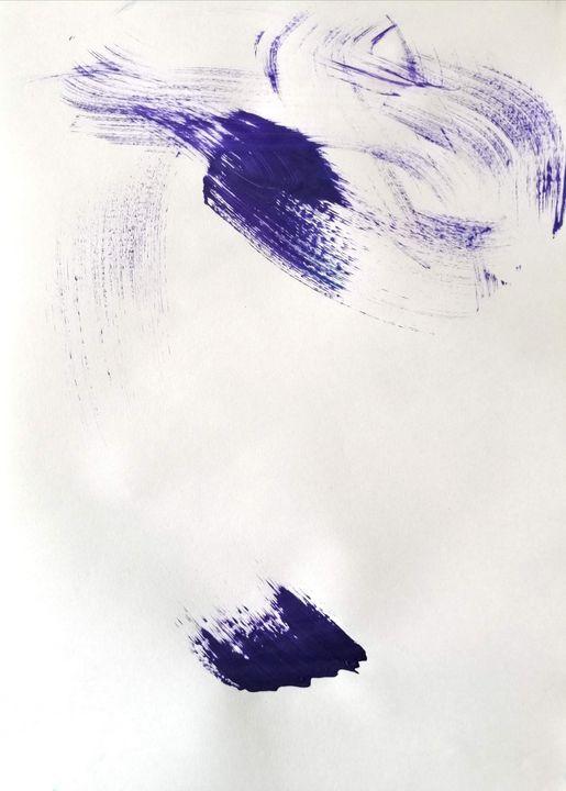 Purple Abstraction no 7 - YagmurTuran