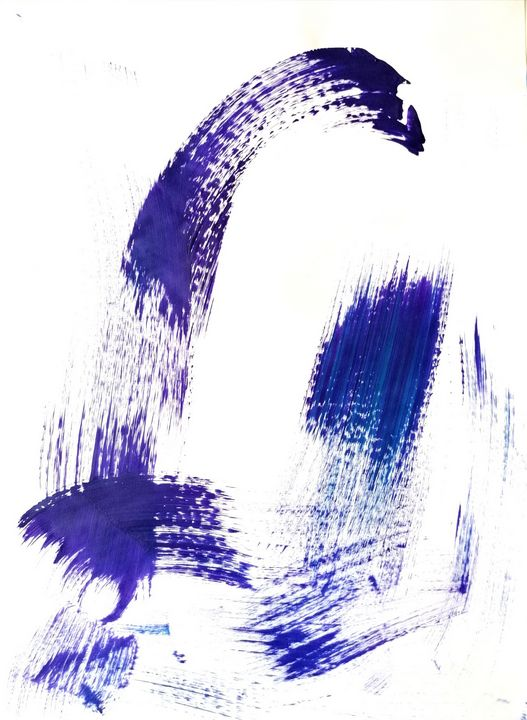 Purple Abstraction no 8 - YagmurTuran
