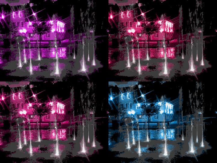 Folkestone Fountains x4 - Rogers Art Shop