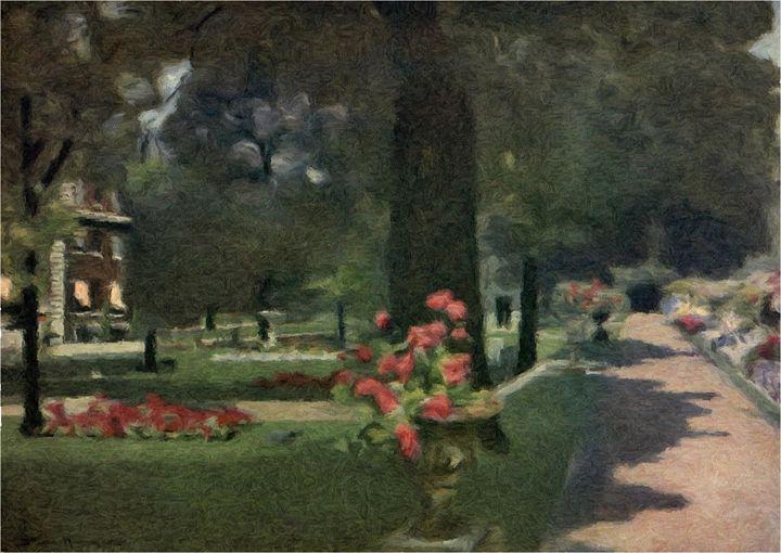 Palace Gardens (2) - Rogers Art Shop