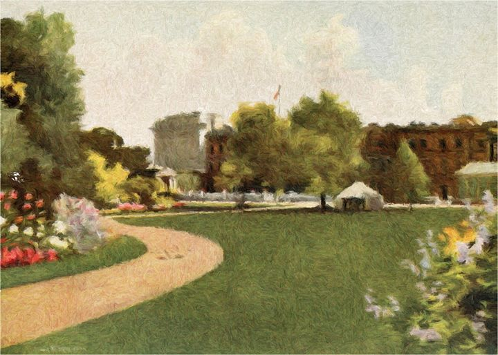 Palace Gardens {1} - Rogers Art Shop