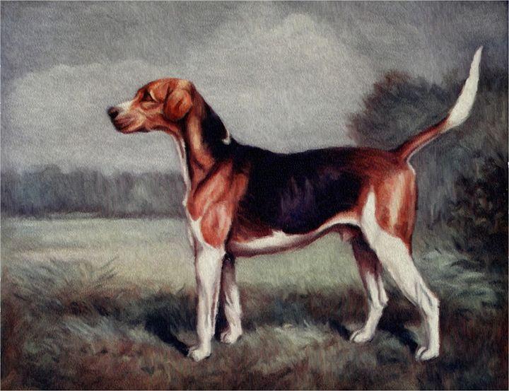 Foxhound (Vaulter 1914) - Rogers Art Shop