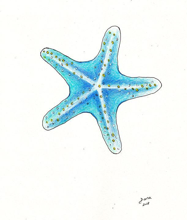 Blue starfish - Walanad