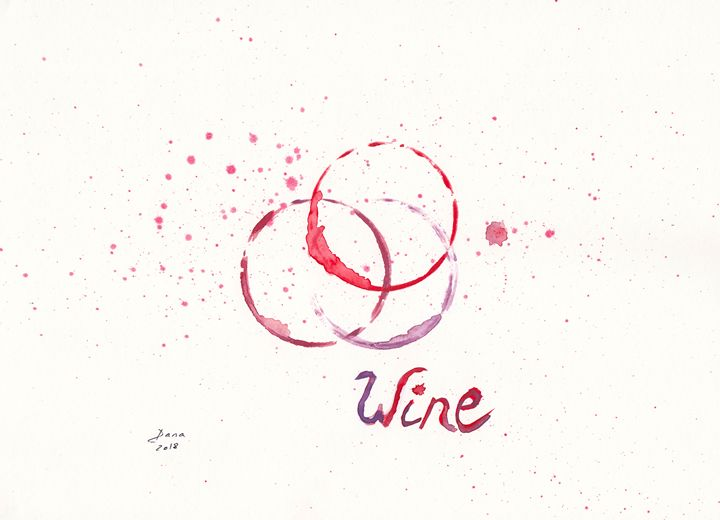 Wine stains - Walanad