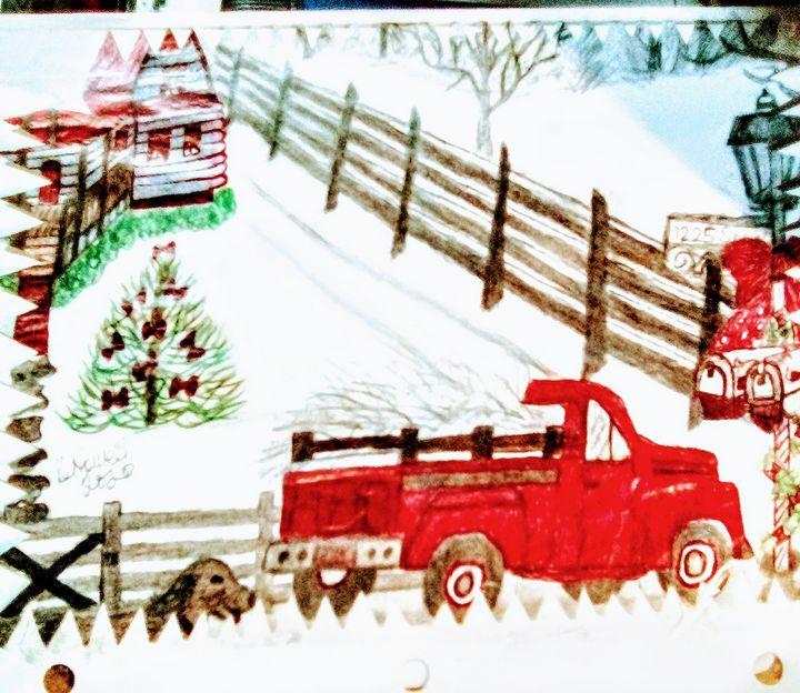 Country Christmas - Giggly Girl