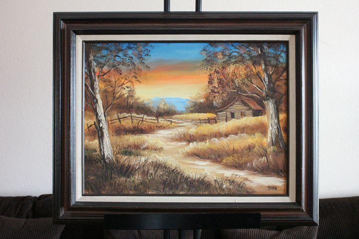 Sunset by Mickey Clark - Erman Agustin Cruz Art Gallery