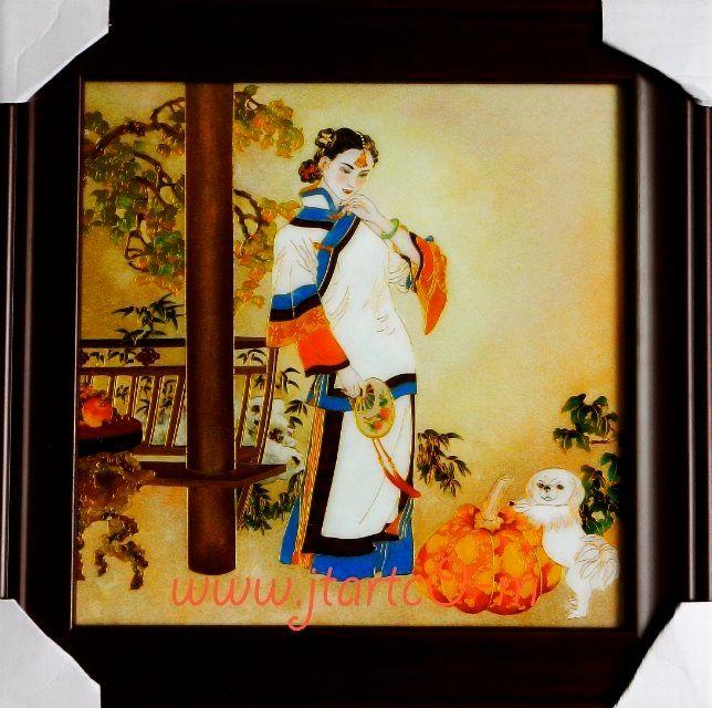 Dusk - Yucan Huang Cloisonne Art!