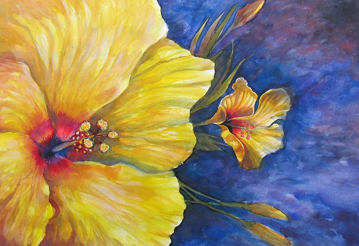 Yellow flower - ArtDecorStudio