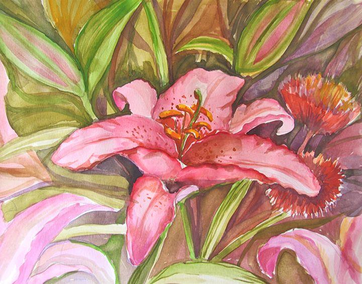 Exsotic Pink - ArtDecorStudio