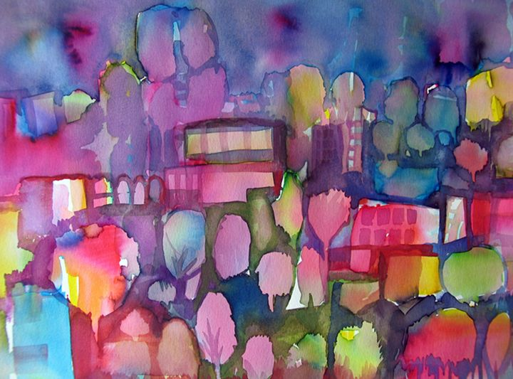 colour city2 - ArtDecorStudio