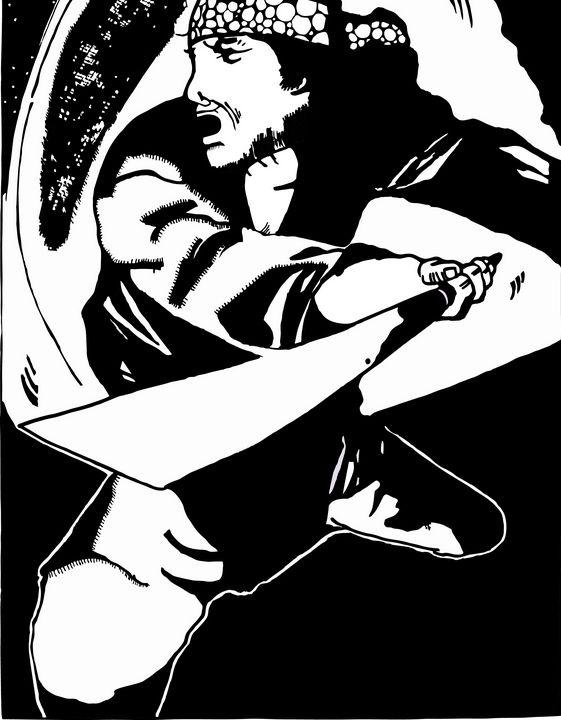 ancient Indonesia fighter - GALIH KUSMAWAN