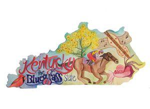 Kentucky the Bluegrass State - Bluebells & Butterflies