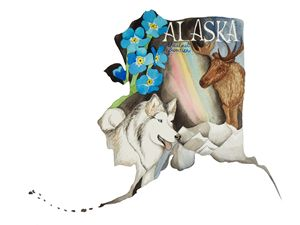 Alaska the Last Frontier - Bluebells & Butterflies