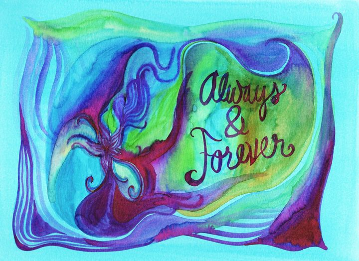 Always & Forever - Bluebells & Butterflies