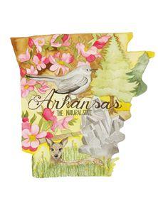 Arkansas the Natural State - Bluebells & Butterflies