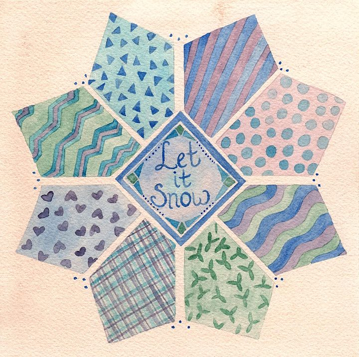 Let it Snow - Bluebells & Butterflies