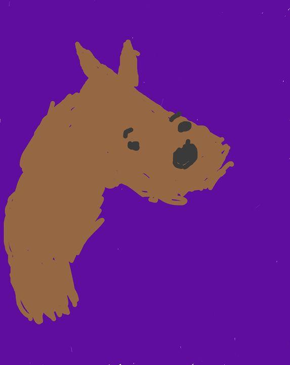 Horse - Charltons art