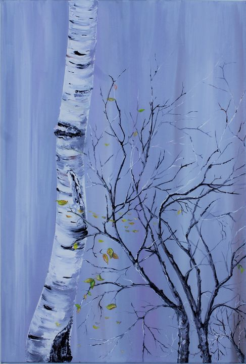 Birch Tree Spring Leaf - Gallery of Paradoxes