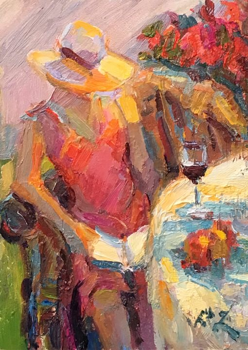 Red Wine - Diane Leonard
