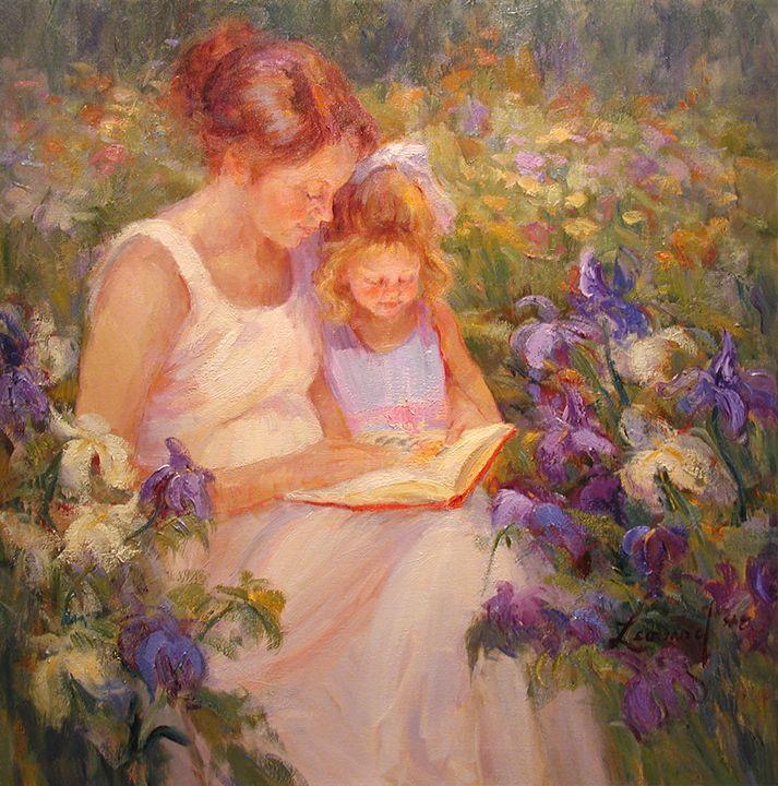 In The Garden - Diane Leonard