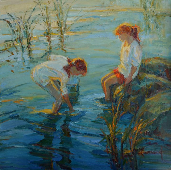 Tide Pools - Diane Leonard