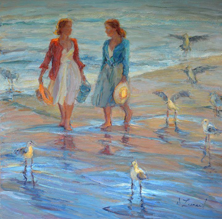 A Walk With The Seagulls - Diane Leonard