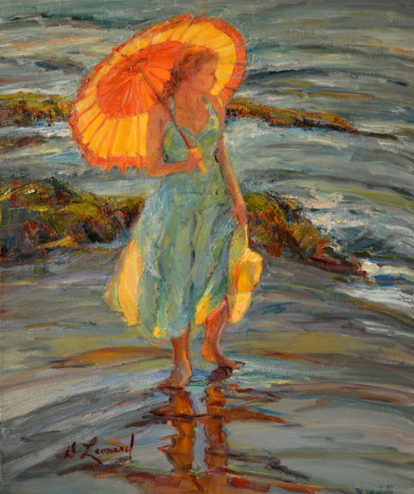 By The Sea - Diane Leonard