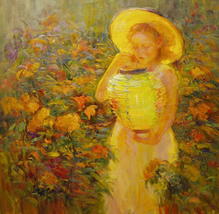 """In My Grandmother's Garden"" - Diane Leonard"