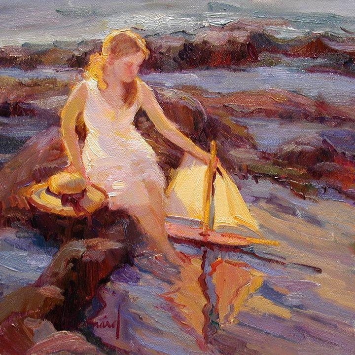 """""""Summer Sails"""" - Diane Leonard"""