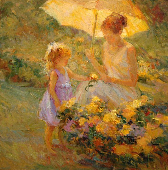 A Flower For My Mother - Diane Leonard