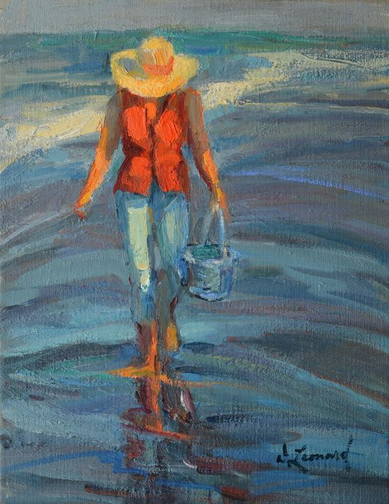 """Summer Walk"" - Diane Leonard"