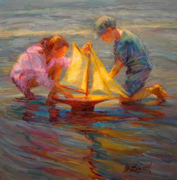 Summer Sails - Diane Leonard