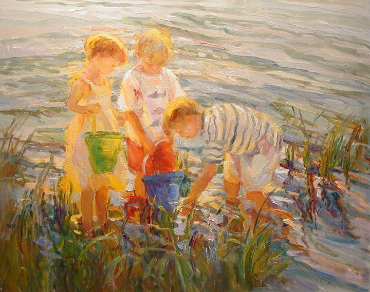 Looking For Treasures - Diane Leonard
