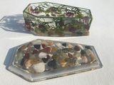 Coffin jewelry/trinket box